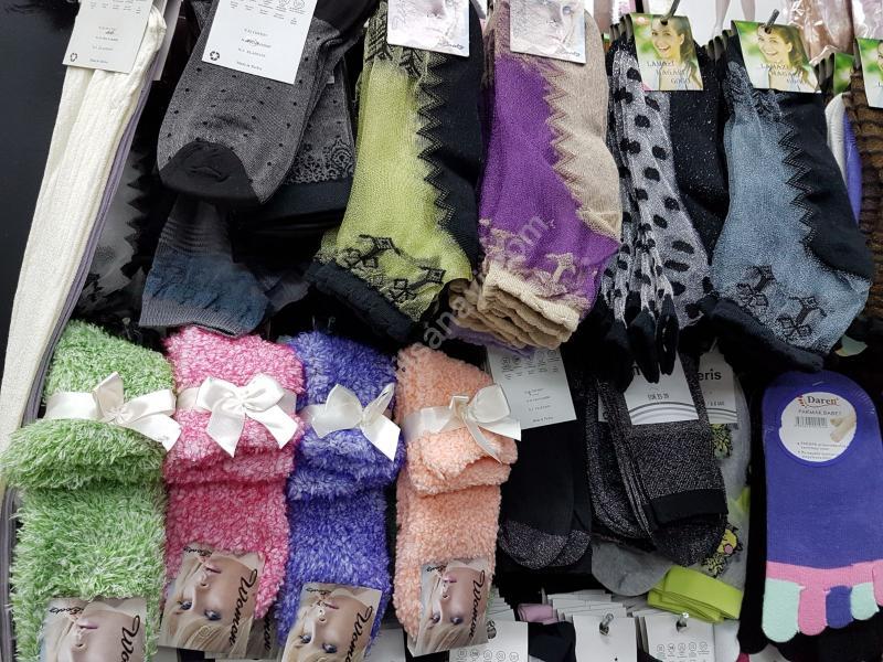 0,70 Kuruştan Başlayan Fiyatlara Toptan Çorap
