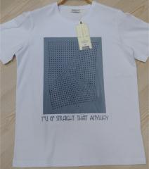 Bis.Yaka Süprem Emprime Baskı T-Shirt