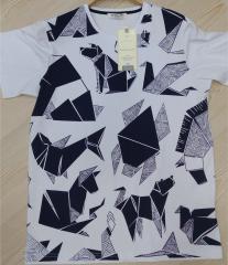 Bis.Yaka Süprem Pano Baskı T-Shirt
