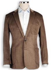 Fitilli kadife ceket