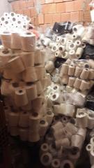 Ham viskon polyester renkli her türlü iplik satımı
