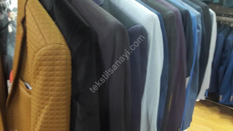 İhraç Fazlası Erkek Ceketleri