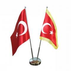 Masa Tipi Türk Bayrağı