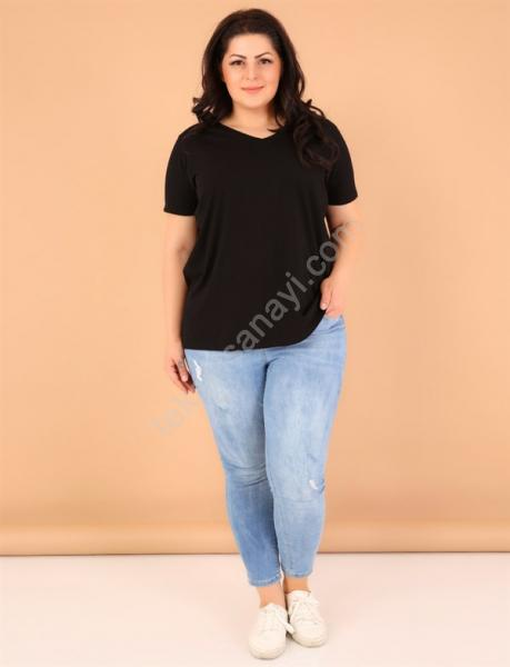 Serili Ve Yaka Bayan Tişörtler  9 TL