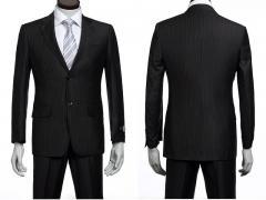Siyah Anti-Statik Erkek Takım Elbise