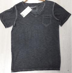 Yıkama Cepli T-Shirt